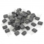 KBP307 3A Crystal Rectifiers - Black + Silver (50 PCS)
