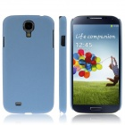 ENKAY Quicksand Style Protective Plastic Back Case for Samsung Galaxy S4 i9500 - Blue
