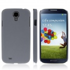 ENKAY Quicksand Style Protective Plastic Back Case for Samsung Galaxy S4 / i9500 - Grey