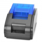 USB High Speed Receipt Printer for Supermarket - Black + Blue
