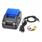 Printer USB High Speed ​​Recibo de Supermercado - Preto + Azul