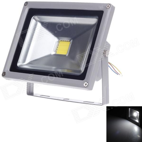 SHANGHAN TGD-003 20W 1800lm 6500K SMD LED Project Light - Silver + Black (90~240V)
