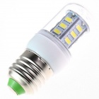 E27 4W 280lm 5500K 24 x SMD 5730 LED  White Light Lamp Bulb - White (AC 110~120V)