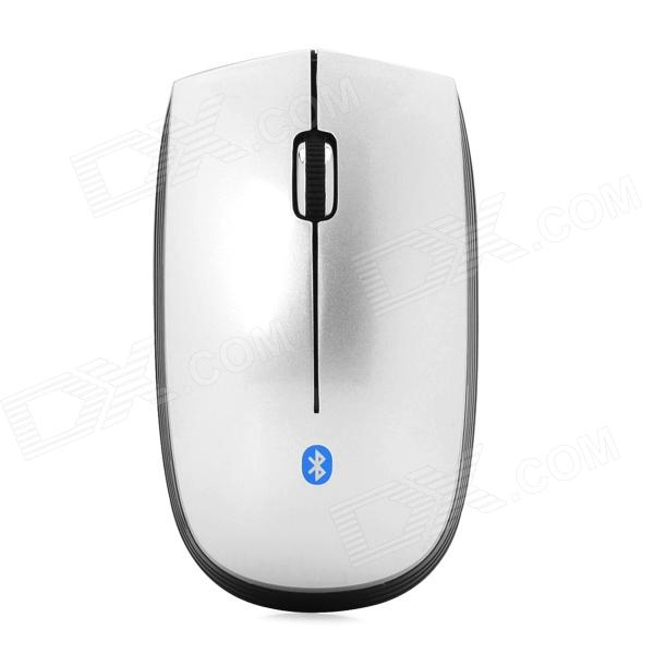 SMF30 Bluetooth v3.0 Wireless Optical 1000 / 1200 / 1600dpi Mouse - Black + Silver (1 x AA) zuntuo zt 302 heise 2 4ghz 800 1200 1600 2000dpi wireless optical mouse black blue