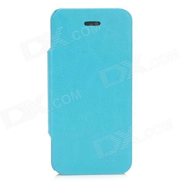 KUCHI Protective PU Leather Case for Iphone 5C - Blue стоимость