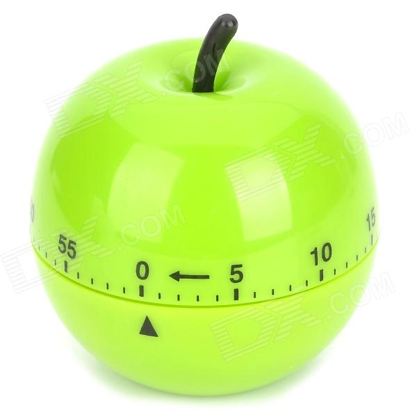 YaoSheng T109 Apple Style Plastic Mechanism Timer / Alarm - Green