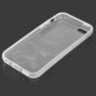 Simple Protective PC Back Case for Iphone 5C - Transparent White