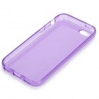 Simple Protective PC Back Case for Iphone 5C - Translucent Purple