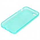Simple Protective PC Back Case for Iphone 5C - Translucent Green