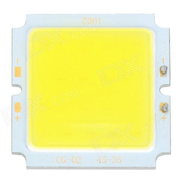 CG-02-45-35 10W D900lm 6500K LED White Light COB Module - White + Silver + Yellow (33~36V)