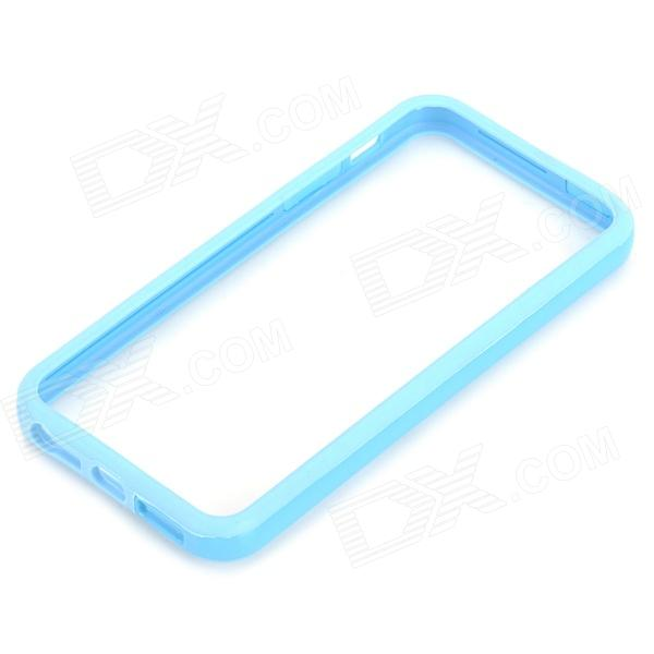 Protective TPU + PC Bumper Frame for Iphone 5S / 5G - Light Blue