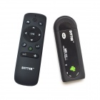 Ditter T3 Dual-Core Android 4.2 do Google TV Player w / 1GB RAM / 8GB ROM / HDMI + Air Mouse - Preto