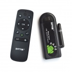 DITTER T19 Dual-Core Android 4.2 Google TV Player w/ 1GB RAM / 8GB ROM / HDMI + Air Mouse - Black