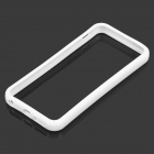 Protective TPU + PC Bumper Frame for Iphone 5S / 5G - White