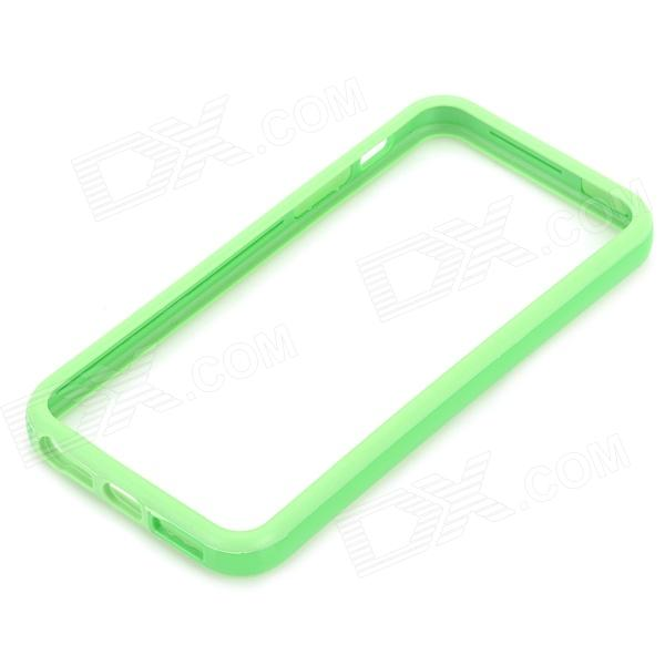 Protective TPU + PC Bumper Frame for Iphone 5 / 5s - Green