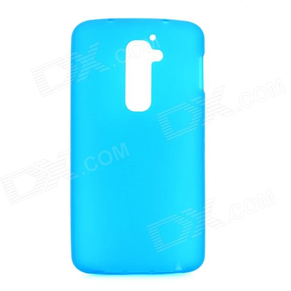 Protective TPU Back Case for LG G2 / D801 / F320 / F34L / LS980 - Blue