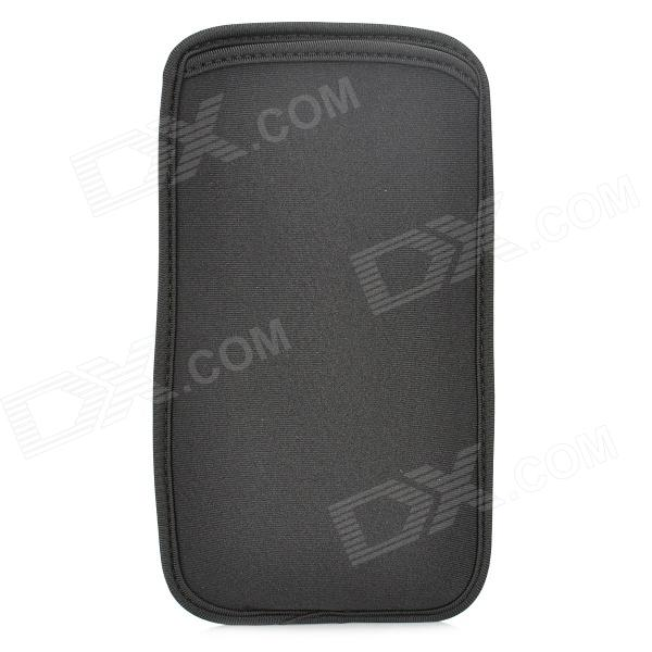 Protective Neoprene Pouch Bag for Samsung i9200 - Black