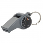 Creeper Outdoor Camping Multifunction Lifesaving Whistle w/ Compass / Thermometer