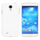 Quicksand Style Protective Plastic Back Case for Samsung Galaxy S4 i9500 - White