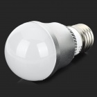 DIY E27 3W White Light LED Bulb Housing Shell - Silver + White (110~240V)
