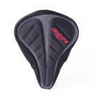 Soldier S35-01 Outdoors Sports Bicycle Saddle - Black + Grey + Red