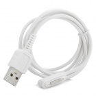 USB 2.0 Male Data Sync / Charging Cable for Sony Xperia Z Ultra XL39H - White (100cm)
