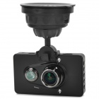 "GS6300 Ambarella A2S70 5.0MP 1080p Wide Angle Car DVR w/ 3.0"", GPS Logger, HDMI, TF - Black"