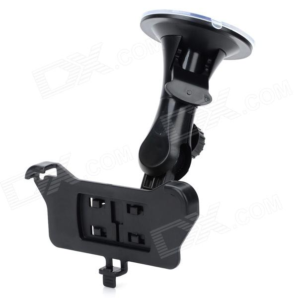 Car Windshield Mount Holder for Iphone 5S - Black concept car universal windshield mount holder for iphone samsung cellphone black