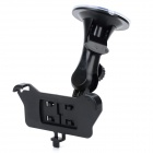 Car Windshield Mount Holder for Iphone 5S - Black