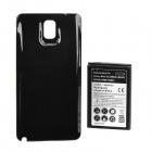 Replacement 6600mAh Dual Core Extended Battery w/ Back Cover for Samsung N9000 / N9005 - Black