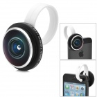 Universal External 235 Degree Lens for Samsung / Huawei / Xiaomi / Iphone 4S / HTC + More - Black