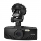 "AT 700 NT96650 5.0MP WDR 1080p Wide Angle Car DVR w/ 2.7"" / HDMI / TF - Black"