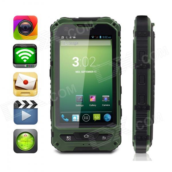 MOXIV M8 Ultra-Rugged Waterproof Android 4.2 WCDMA Cellphone w/ 4.0