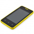 "MG2 (G2A) MTK6572 Android 2.3.5 GSM Cell Phone w / 3,5 ""näyttö, Bluetooth, FM ja Quad-Band - Keltainen"