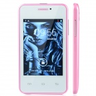"MG2 (G2A) MTK6572 Android 2.3.5 GSM Cell Phone w/ 3.5"" Screen, Bluetooth, FM and Quad-Band - Pink"
