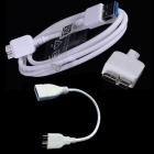 iTaSee IT60 Micro USB 9-Pin Male to USB 3.0 Male Cable + OTG Cable for Samsung Galaxy Note 3 N9000