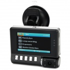 "BLACKVIEW BL2000 1080P 2.7"" TFT CMOS 3.0MP Wide Angle Car DVR w/ G-Sensor / AV-Out - Black"