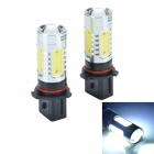 CHEERLINK P13-H5W P13 11W 600lm 5-LED White Light Car Foglight - (2 PCS / 12V)