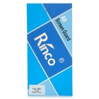 Rinco Protective Matte Frosted Front + Back Screen Protector Film Set for Iphone 5 - Transparent