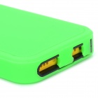 Protective Plastic + Silicone Detachable Full Body Case for Iphone 5C - Green + Black