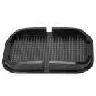 Car Anti-Slip Silicone Pad for Iphone 4S / 5s / 5c / Samsung S4 Mini / GPS - Black