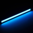 Waterproof 7W 75lm 495nm 80-COB LED Ice Blue Car Daytime Running Lights (12V / 17cm)