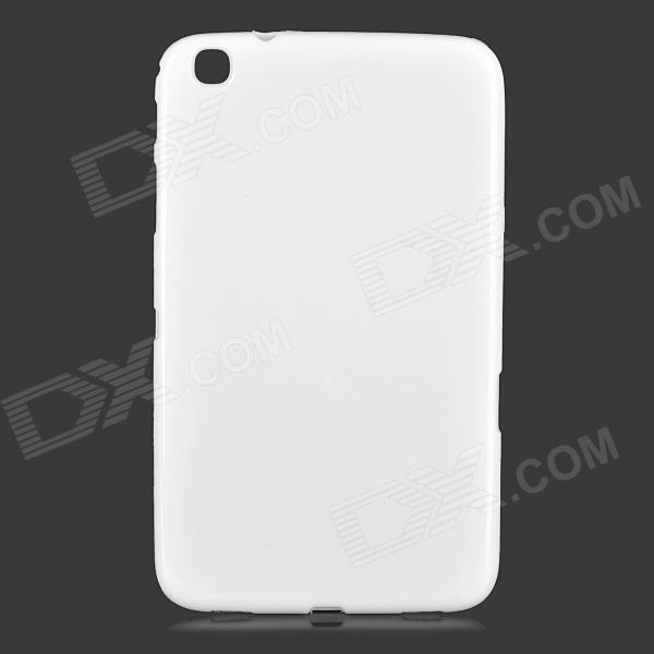 Stylish Protective TPU Back Case for Samsung Galaxy Tab 3 8.0 T311 / T310 - White