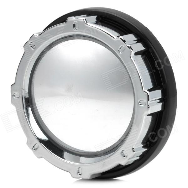 ShunWei SD-2402 360 Degree Rotational Car Rearview Round Mirror - Silver