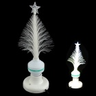 XL10 Fiber Optical Flower E27 3W 30lm LED White Light Christmas Tree Lamp - White (85~260V)