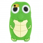 Cartoon Sea Turtle Style Protective Silicone Back Case for Iphone 5C - Green