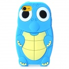 Cute Turtle Pattern Protective Silicone Back Case for Iphone 5C - Blue + Beige + White + Black