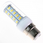 GCD F35 B22 5W 350lm 2500K 36 x SMD 5630 LED Warm White Light Lamp Bulb - White (AC 220~240V)