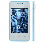 "MG2 MTK6572 Android 2.3.5 GSM Cell Phone w/ 3.5"" Screen, Bluetooth, FM and Quad-Band - White + Blue"