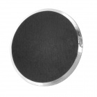 Brushed Metal + Plastic Home Button Sticker for Iphone 4 / 4S / 5 / 5c /5s + More - Black